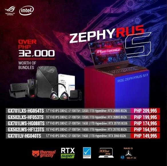 ASUS ROG Zephyrus S