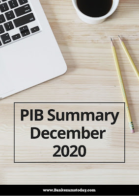 PIB Summary: December 2020