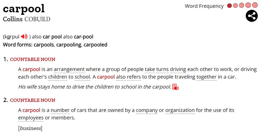 Penjelasan Carpool