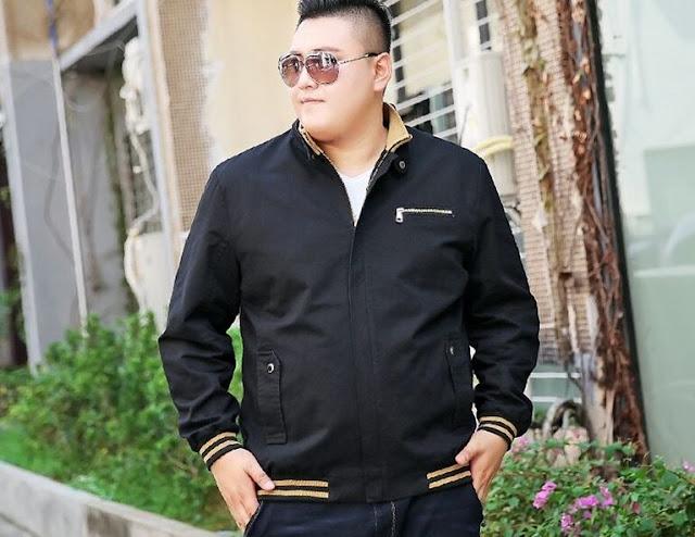 jaket untuk badan gemuk