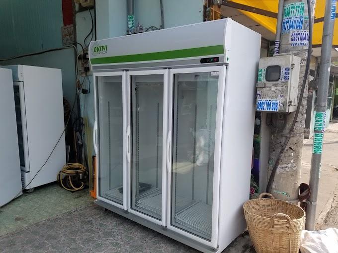 Sửa chửa tủ mát 3 cánh 1500 lít tại Huế