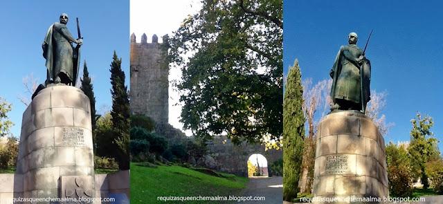 D. Afonso Henriques, Castelo de Guimarães