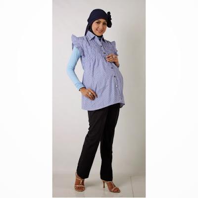 Contoh Model Busana Muslim Untuk ibu hamil