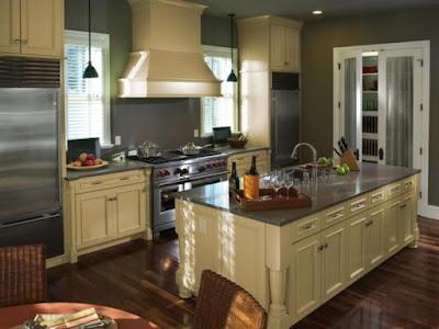 inspirasi untuk menyusun interior kitchen set minimalis