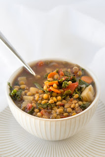 vegetarian lentil recipe lentil and vegetable soup