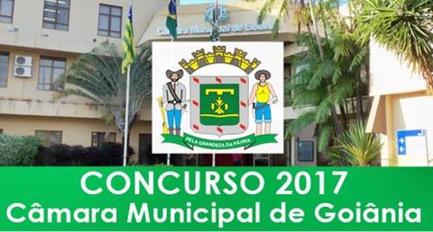 Apostila Câmara de Goiânia GO 2017