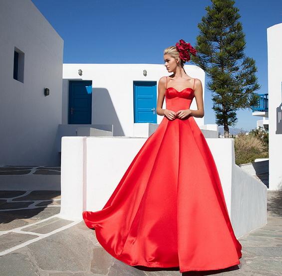 vestidos modernos y elegantes