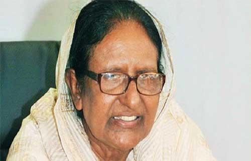 সাবেক স্বরাষ্ট্রমন্ত্রী সাহারা খাতুন  আইসিইউতে, অবস্থার অবনতি :
