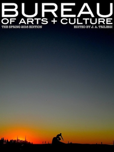 WELCOME to Spring 2016 Edition of BUREAU of ARTS and CULTURE MAGAZINE. 200 Pages of FREE Arts + Culture. This New Edition Contains The BUREAU ICON Essay: BRUCE SPRINGSTEEN . The BUREAU GUEST Artist from CANADA Painter and Sculptor Mr. Erik OLSON  .  NEW  Interviews + Photographic Essays  with  Three from The United Kingdom: Street Photographers  Craig REILLY,  Steve COLEMAN and  Walter ROTHWELL.  BUREAU Dance: Martha GRAHAM,  Plus  Mathilde GRAFSTROM : CENSORED   German Muralist: Hendrik BEIKIRCH, The CLASSICAL Genius: Daniil TRIFONOV. BUREAU NEWS: David GANS on SUPREME COURT, Plus Mexico's DR. LAKRA  Daniel GEORGAKAS on HOLLYWOOD BLACKLIST,  The OSCARS WHITEOUT, PHOTO ESSAYS: Stephen SOMERSTEIN at The  FREEDOM MARCH of 1965, Alex HARRIS showcasing The Afro AMERICANS in North Carolina in The 1970s Artist Tristan EATON + The Post Modern Paintings . BUREAU Film: TRUMBO Plus Film Reviews & New Online Articles All Year Round at The New BUREAU CITY SITES Across America and The World Through The Internet . BUREAU is an Official MEDIA Partner for The  ITALIAN  Film  Festival  Plus Our Own  BUREAU  PHOTOGRAPHIC Essays …