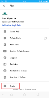Cara Mengaktifkan Dark Mode Youtube di Android