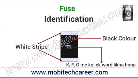 mobile phone repair krna sikhe - pcb circuit board motherboard per small parts - fuse ki pahchan kaise kare | karya or khrabiya