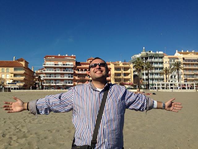 Fuengirola. Co robi na wakacjach Anglik, Polak i Marokańczyk?