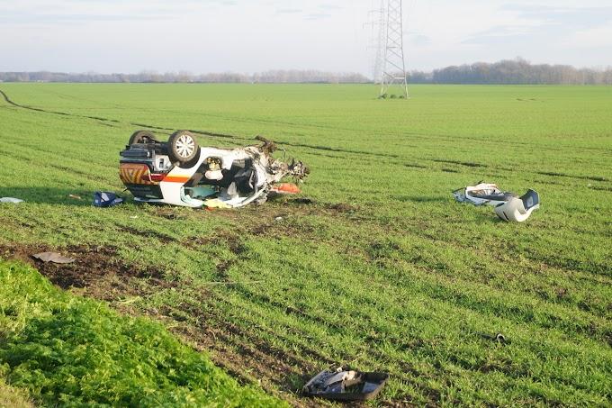 Schwerer Unfall auf B185 bei Köthen
