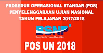 Download POS UN 2018 dan Kisi kisi UN SMP SMA dan SMK