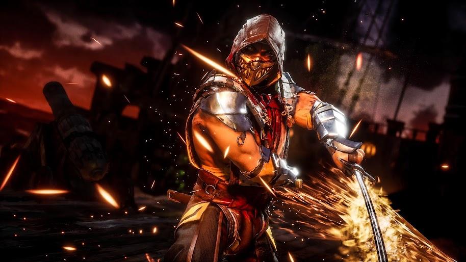 Scorpion Mortal Kombat 11 4k Wallpaper 175