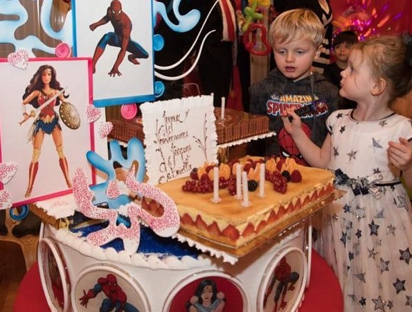 Crown Prince Jacques and Princess Gabriella at birthday party. Princess Charlene shared new photos of her twins Jacques and Gabriella