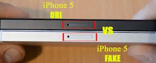 Perhatikan Slot Sim Card iPhone 5