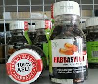 Jual Habbasyi Oil Minyak Habbatusaudah Kemasan isi 210 Kapsul di Surabaya