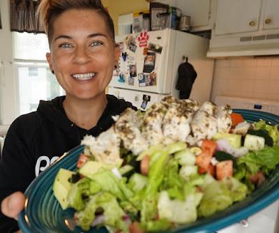 clean eating keto, keto recipes, mediterranean chicken salad, ketosis, low carb, lchf, recipes, clean eating, clean keto