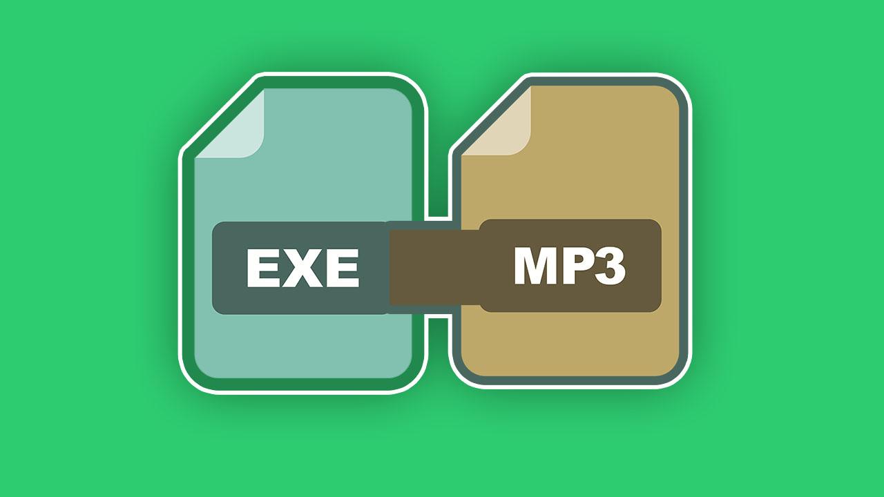 convert exe to mp3