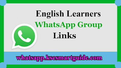 Join English Learners WhatsApp Groups