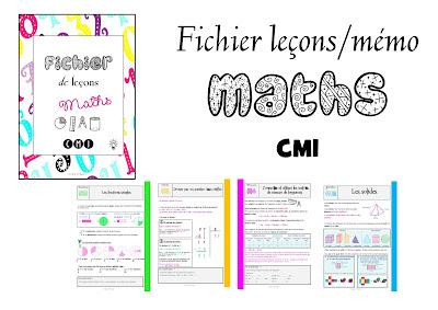 Fichier à imprimer leçons mémo maths mathématiques CM1 les nouveaux outils pour les maths les outils pour les maths jocatop Réussir en géométrie
