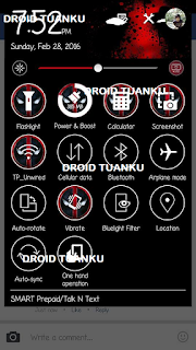 Dead Pool Theme For Asus Zenfone 2 4 5 dan 6