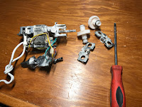 Disassembled gearbox