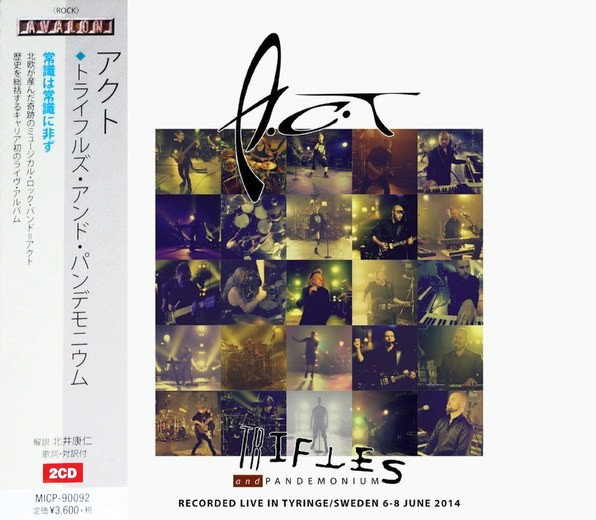 A.C.T - Trifles And Pandemonium [Japanese Edition] (2016) full