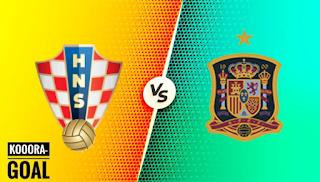 مشاهدة مباراة اسبانيا وكرواتيا بث مباشر كورة جول اليوم 28-06-2021 في يورو 2020