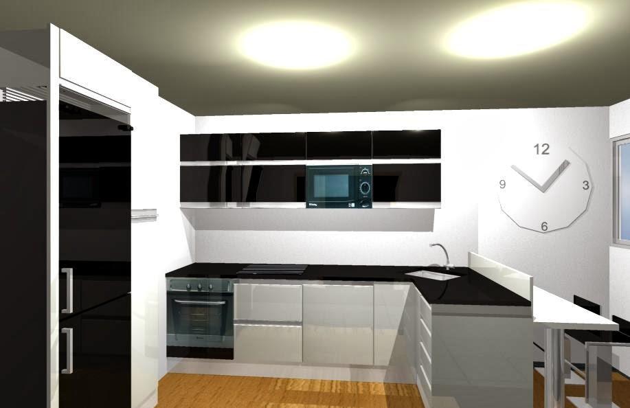 Barquitec cocina donde colocar los electrodom sticos - Donde colocar tv en cocina ...