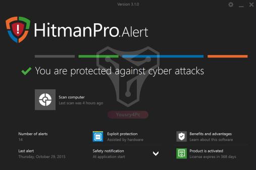 تحميل برنامج HitmanPro.Alert عملاق الحماية من فيروس الفيدية وملفات التجسس