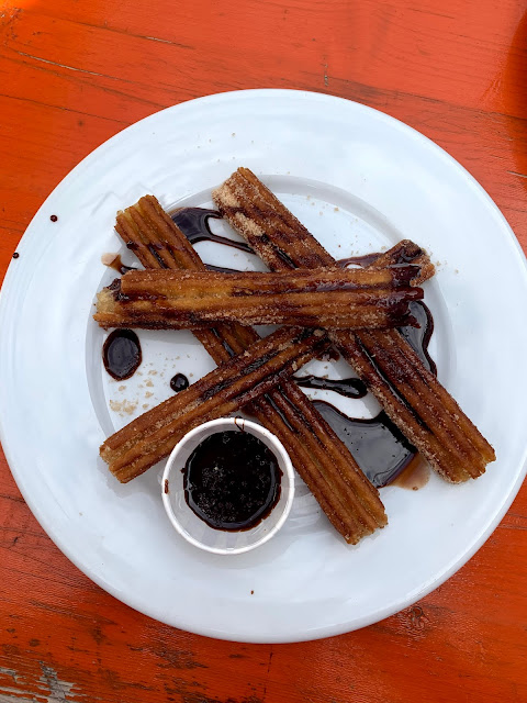 churros at Kings Street Tavern, Southsea