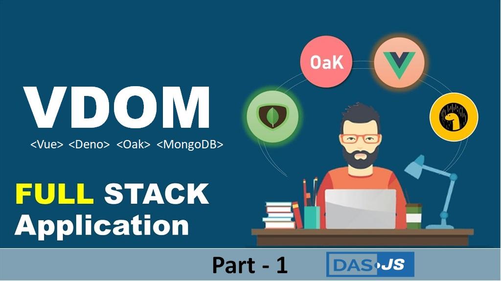 VDOM Stack (Vue Deno Oak MongoDB) CRUD example
