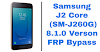 Samsung J2 Core (SM-J260G) 8.1.0 FRP Bypass Without PC
