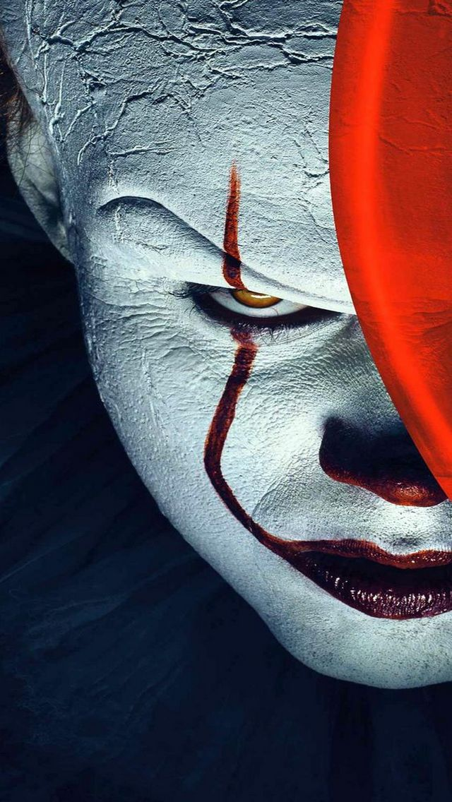 Wallpaper Horror, IT 2019, pagliaccio,