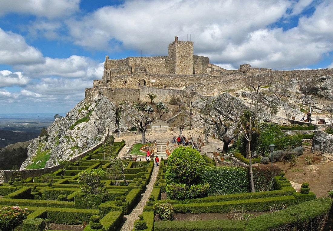 Castle Marvao Alentejo Portugal