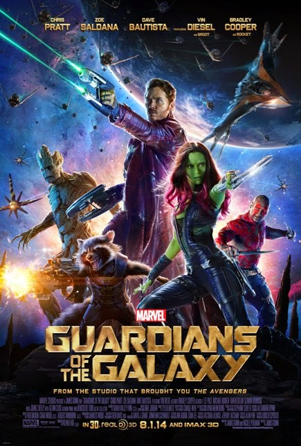 Guardians of the Galaxy (2014) movie review by Glen Tripollo