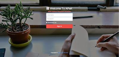 Aplikasi Penggajian Karyawan berbasis web dengan PHP