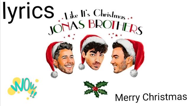 Like it's Christmas lyrics