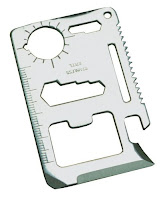 Image: moda seya 11 Function Credit Card Size Survival Pocket Tool