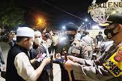 Tertibkan Masyarakat Menggunakan Masker, Kapolres Majalengka Pimpin Langsung Razia Operasi Yustisi