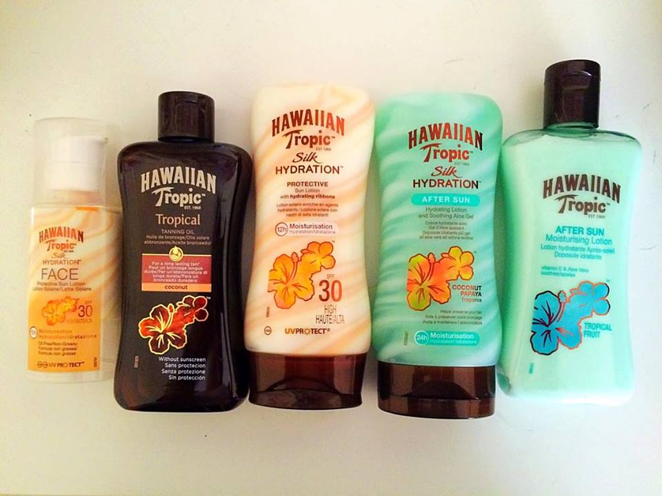 Hawaiian Tropic Sun Lotions Review