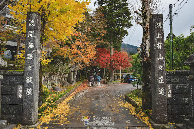 Hakone has the prettiest autumn color