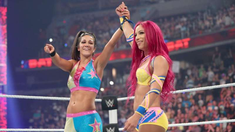 Bayley or Sasha Banks