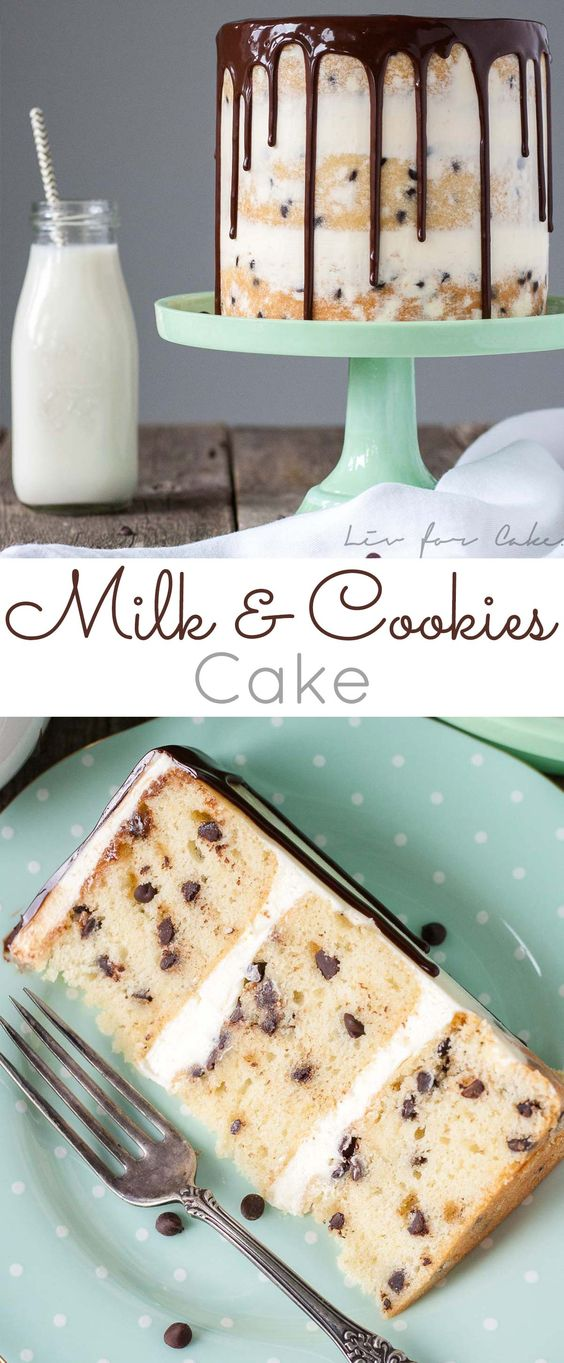 Mìlk and Cookìes Cake