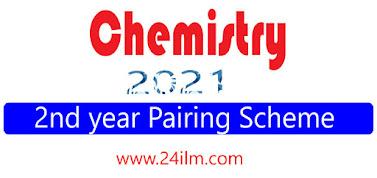 Chemistry 12th class pairing scheme 2021