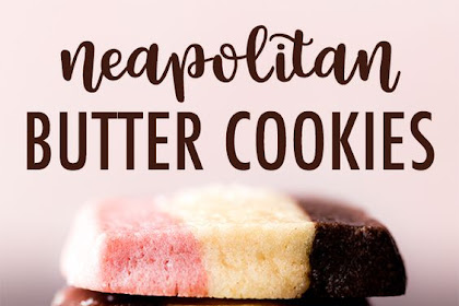 1 Dough Neapolitan Cookies