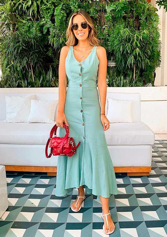 Looks de natal vestido verde