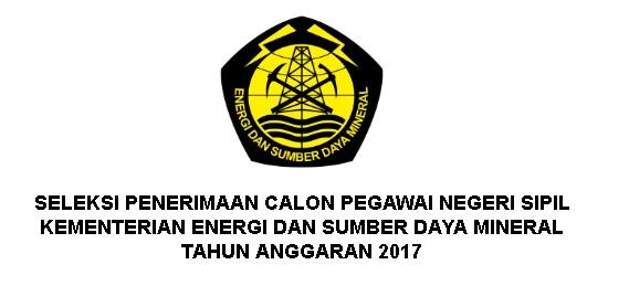 Lowongan Kerja CPNS Kementerian ESDM